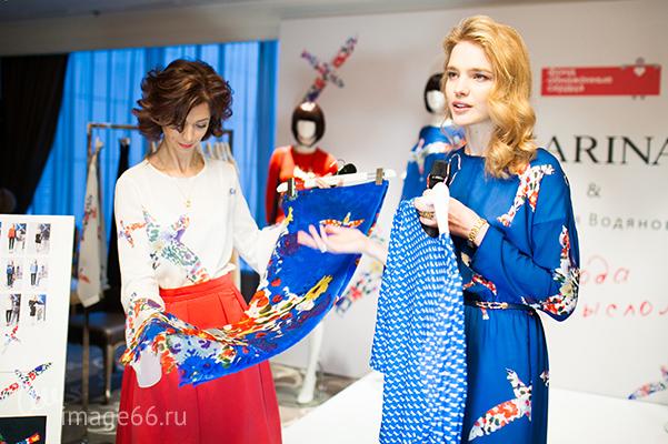 Коллекция зарина и наталья водянова karina bondarenko