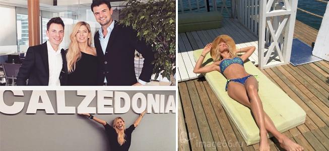 Новое лицо итальянского бренда Calzedonia Вера Брежнева