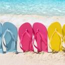 Цветные сандали вьетнамки превью