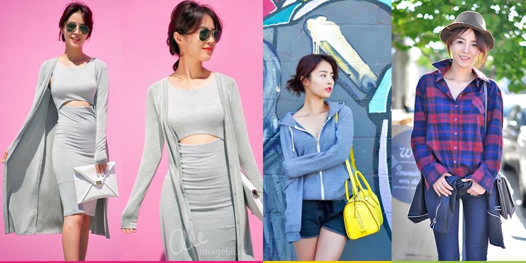 Модель Jullianne Yoon в интересных образах