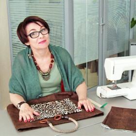 Светлана Зайцева пошагово объясняет как сшить сумку своими руками