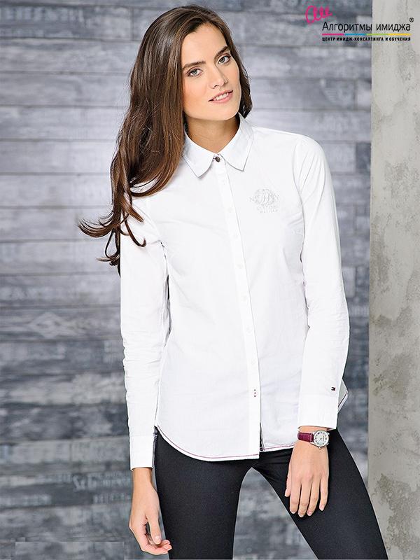 5988f6edd1c Базовый элемент гардероба — белая рубашка. Популярные модели и ...