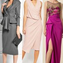 Девушки в платьях с драпировками